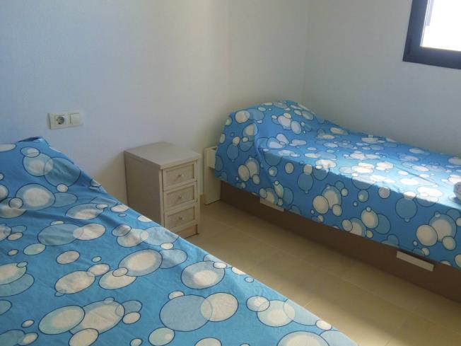 Dormitorio Apartamentos Terrazas Al Mar 3000 Oropesa del mar