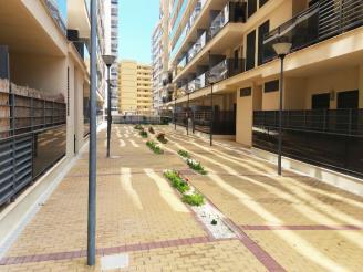 Fachada Verano España Costa Azahar Oropesa del mar Apartamentos Terrazas Al Mar 3000