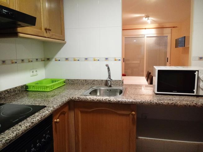 Cocina Apartamentos Tavernes Playa Suites 3000 Tavernes de la Valldigna
