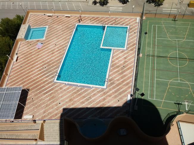 Piscina Apartamentos Tavernes Playa Suites 3000 Tavernes de la Valldigna