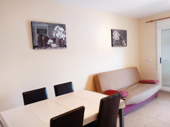 Salón comedor Apartamentos Tavernes Playa Suites 3000 Tavernes de la Valldigna