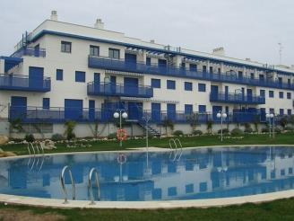 Façade Winte Espagne Costa del Azahar ALCOSSEBRE Appartements San Damian 3000
