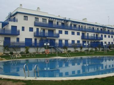 Fachada Invierno Apartamentos San Damian 3000 Alcoceber
