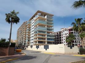 Fachada Invierno España Costa Azahar Oropesa del mar Apartamentos Oropesa Ciudad de Vacaciones 3000