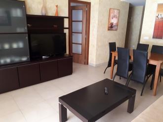 Salón comedor España Costa Azahar Oropesa del mar Apartamentos Oropesa Ciudad de Vacaciones 3000