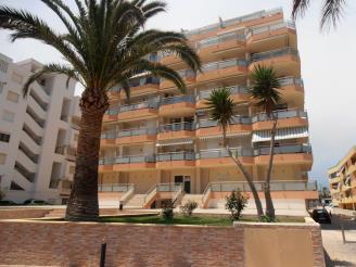 Façade Winte Espagne Costa del Azahar PENISCOLA Appartements Surfing 3000