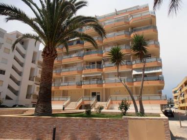 Fachada Invierno España Costa Azahar Peñiscola Apartamentos Surfing 3000