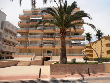 Fachada Verano España Costa Azahar Peñiscola Apartamentos Surfing 3000