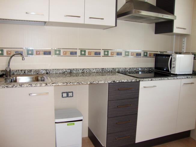 Kitchen Appartements Neptuno 3000 ALCOSSEBRE