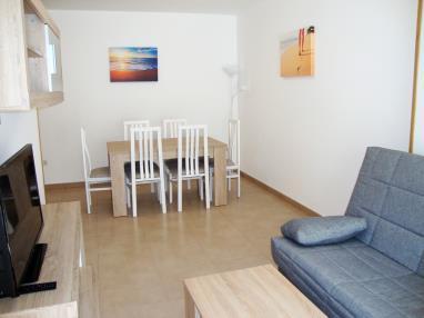 Salón comedor España Costa Azahar Alcoceber Apartamentos Neptuno 3000