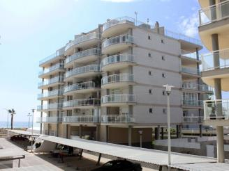 Façade Winte Espagne Costa del Azahar PENISCOLA Appartements La Volta 3000