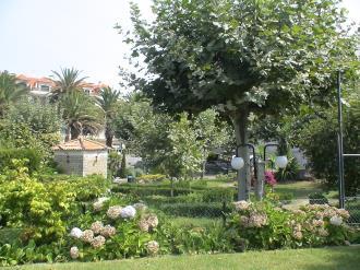 Jardín España Galicia - Rías Bajas Revolta, a - Noalla - Sanxenxo Apartamentos Revo Salinas 3000