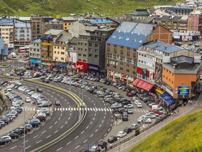 Carretera Pas de la Casa Andorra Estación Grandvalira Pas de la Casa