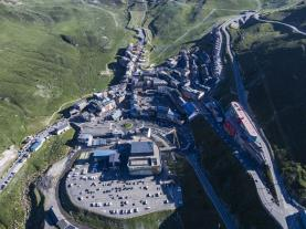 Vistas verano Pas de la Casa Estación Grandvalira Andorra
