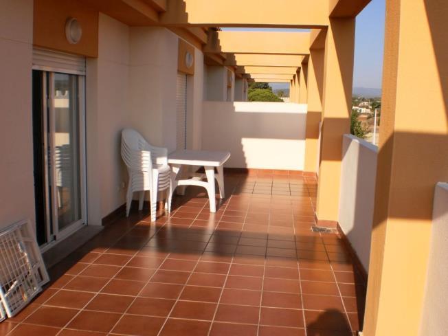 Terraza Apartamentos Penyagolosa 3000 Alcoceber