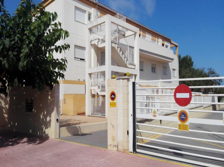 Fachada Verano Apartamentos Penyagolosa 3000 Alcoceber