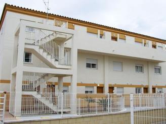 Façade Winte Espagne Costa del Azahar ALCOSSEBRE Appartements Penyagolosa 3000