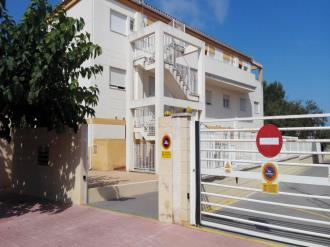 Fachada Verano España Costa Azahar Alcoceber Apartamentos Penyagolosa 3000