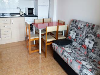 Salón comedor España Costa Azahar Oropesa del mar Apartamentos Acropolis 3000