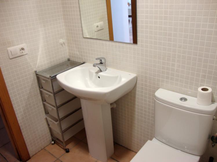 Baño Apartamentos Tierra de Irta 3000 Peñiscola