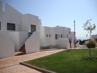 Fachada Verano España Costa Azahar Peñiscola Apartamentos Tierra de Irta 3000