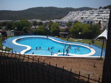 Piscina España Costa Azahar Peñiscola Apartamentos Tierra de Irta 3000