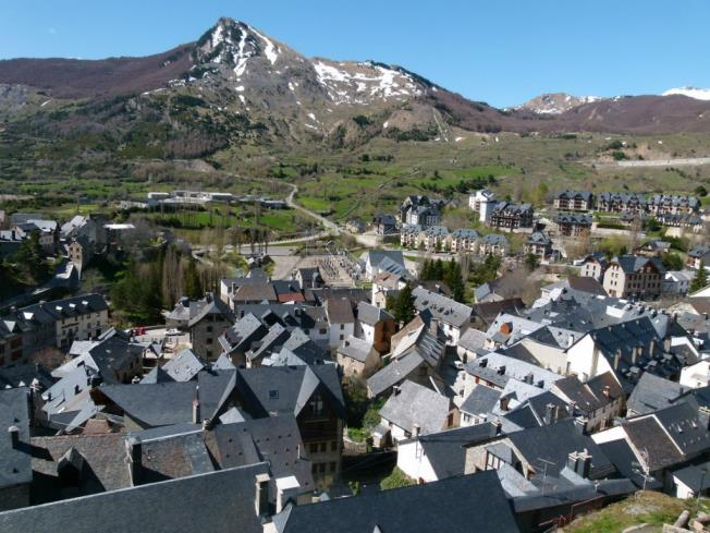 Vistas Sallent Espagne Pyrenées Aragonaises SALLENT DE GALLEGO