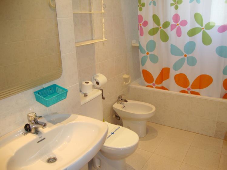 Baño Apartamentos Olimpo 3000 Peñiscola