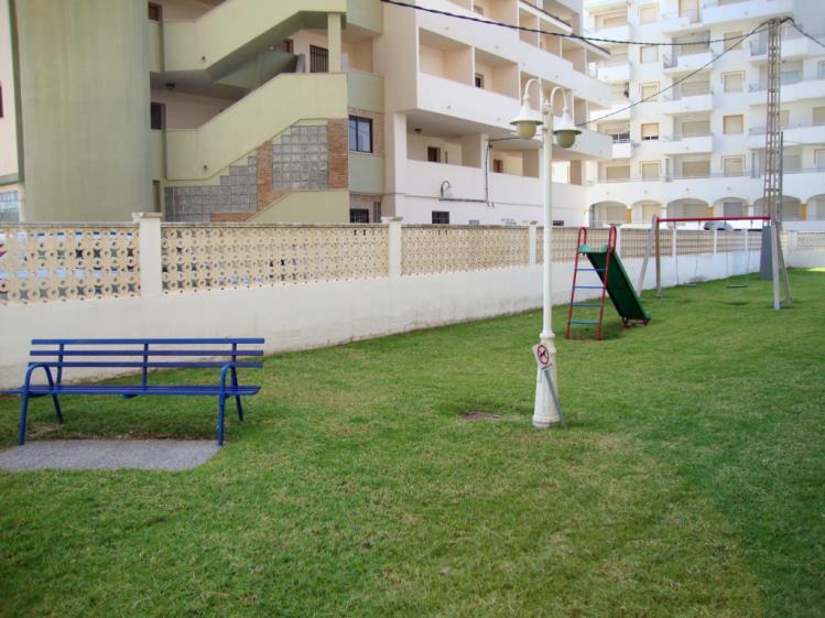 Jardín Apartamentos Olimpo 3000 Peñiscola