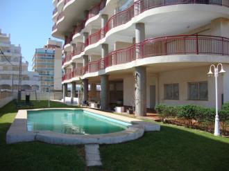 Piscina España Costa Azahar Peñiscola Apartamentos Olimpo 3000