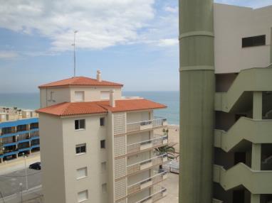 Fachada Verano España Costa Azahar Peñiscola Apartamentos Olimpo 3000
