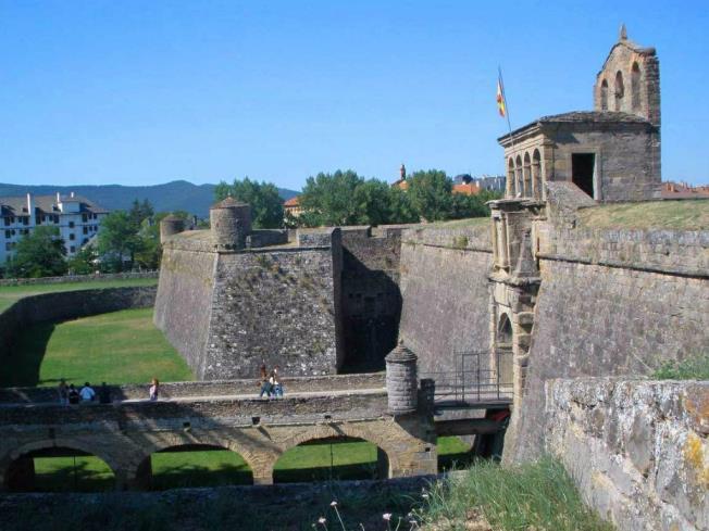Ciudadela de Jaca Spain Aragonese Pyrenees JACA