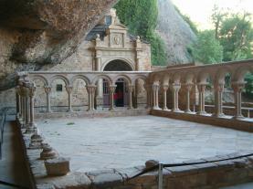 San Juan de la Peña JACA Pirenei Aragonesi Spagna