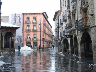 Casco antiguo Jaca Espagne Pyrenées Aragonaises JACA
