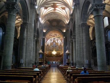 Interior Catedral de Jaca Espagne Pyrenées Aragonaises JACA