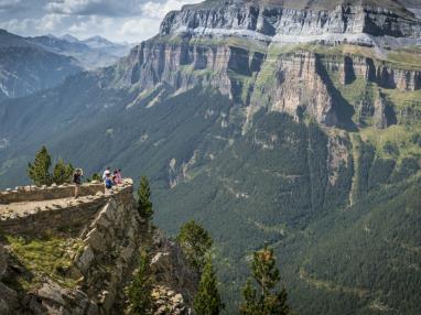 Vista Parque Ordesa Espagne Pyrenées Aragonaises JACA