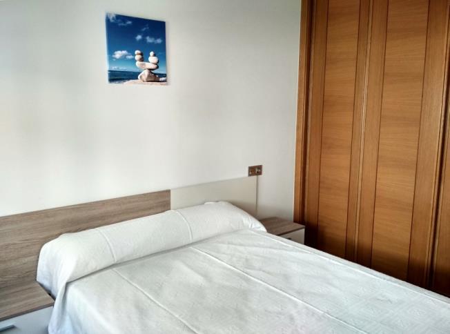 Dormitorio Apartamentos Revolta Sanxenxo 3000 Revolta, a - Noalla - Sanxenxo