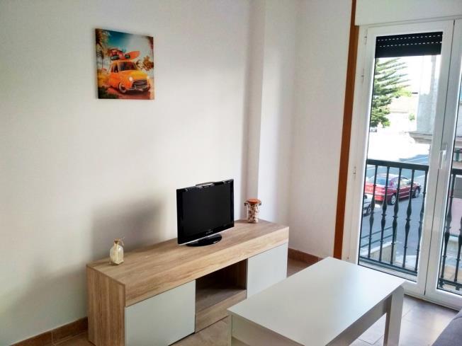 Salón comedor Apartamentos Revolta Sanxenxo 3000 Revolta, a - Noalla - Sanxenxo