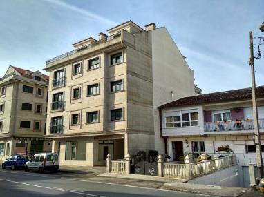Fachada Invierno España Galicia - Rías Bajas Revolta, a - Noalla - Sanxenxo Apartamentos Revolta Sanxenxo 3000
