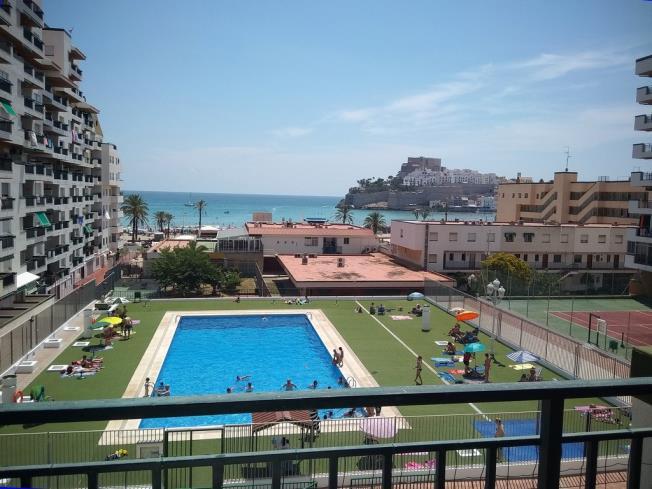 Piscina Apartamentos Peñiscola Playa 3000 Peñiscola
