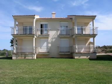 Fachada Invierno España Costa Azahar Vinaroz Apartamentos Panoramica Montero Golf 3000