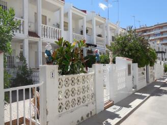Façade Winte Espagne Costa del Azahar PENISCOLA Appartements Voramar 3000