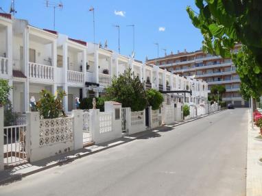 Fachada Verano España Costa Azahar Peñiscola Apartamentos Voramar 3000