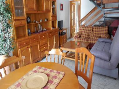 Salón comedor España Costa Azahar Peñiscola Apartamentos Voramar 3000