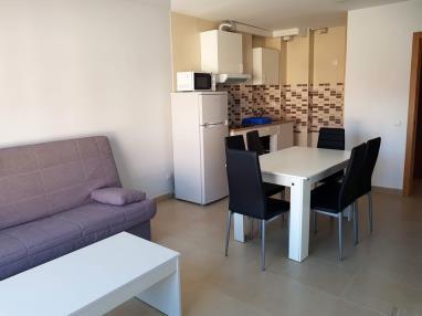 Salón comedor España Galicia - Rías Bajas Portosín Apartamentos Portosin 3000