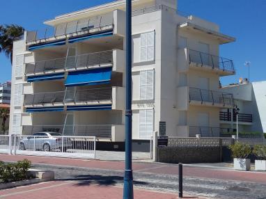 Fachada Verano España Costa Azahar Peñiscola Apartamentos Stil Mar 3000