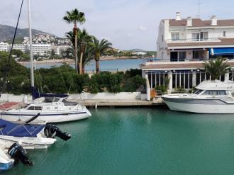 Façade Winte Espagne Costa del Azahar ALCOSSEBRE Appartaments Poblado Marinero 3000
