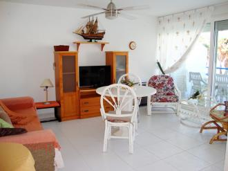 Salón comedor España Costa Azahar Alcoceber Apartamentos Poblado Marinero 3000