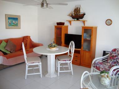 Salón comedor Apartamentos Poblado Marinero 3000 Alcoceber