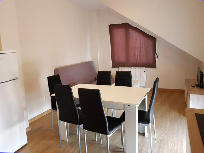 Salón comedor Apartamentos Ribeira 3000 Ribeira